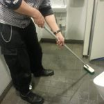 毎日の清掃作業