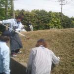 恒例、草刈