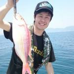 タイ釣りに行って来ました。