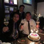 Kさん、お誕生日おめでとうございます!!