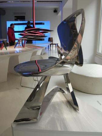 ステンレス椅子